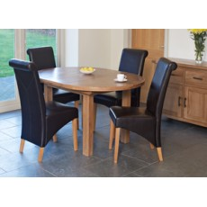 Hampshire Round Extending Table