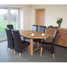 Hampshire Extending Oval Table