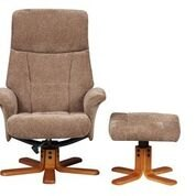 Marseille Swivel Recliner & Footstool