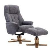 Dubai Swivel recliner & Footstool