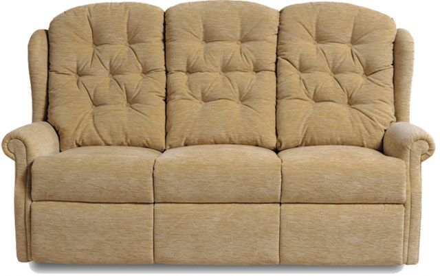 Celebrity Woburn Fabric Fixed 3 Seater