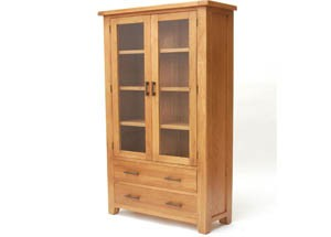 Furniture Link Hampshire Display Cabinet