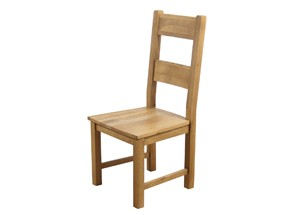 Furniture Link Hampshire Solid Seat Dining Chair Solid Seat