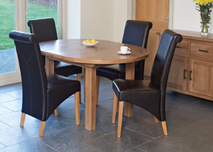 Furniture Link Hampshire Round Extending Table