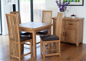 Furniture Link Hampshire Extending Square Table